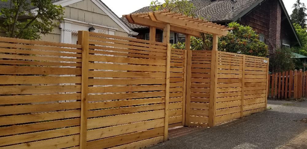 cedar wood fence repairs