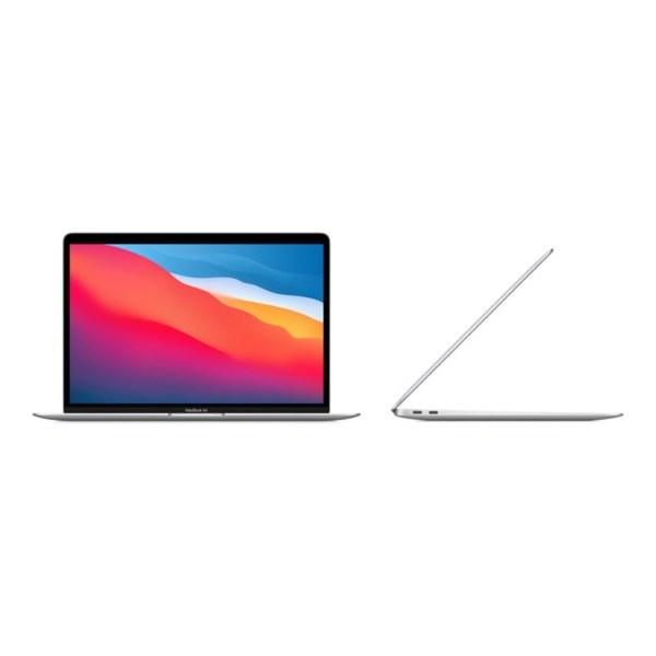 """Apple 13"""" MacBook Air: M1 chip 8C CPU 8C GPU 512GB- Silver"""