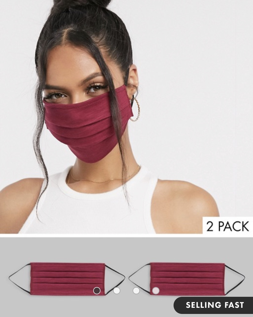 Face Covering by ASOS | Up to 50%