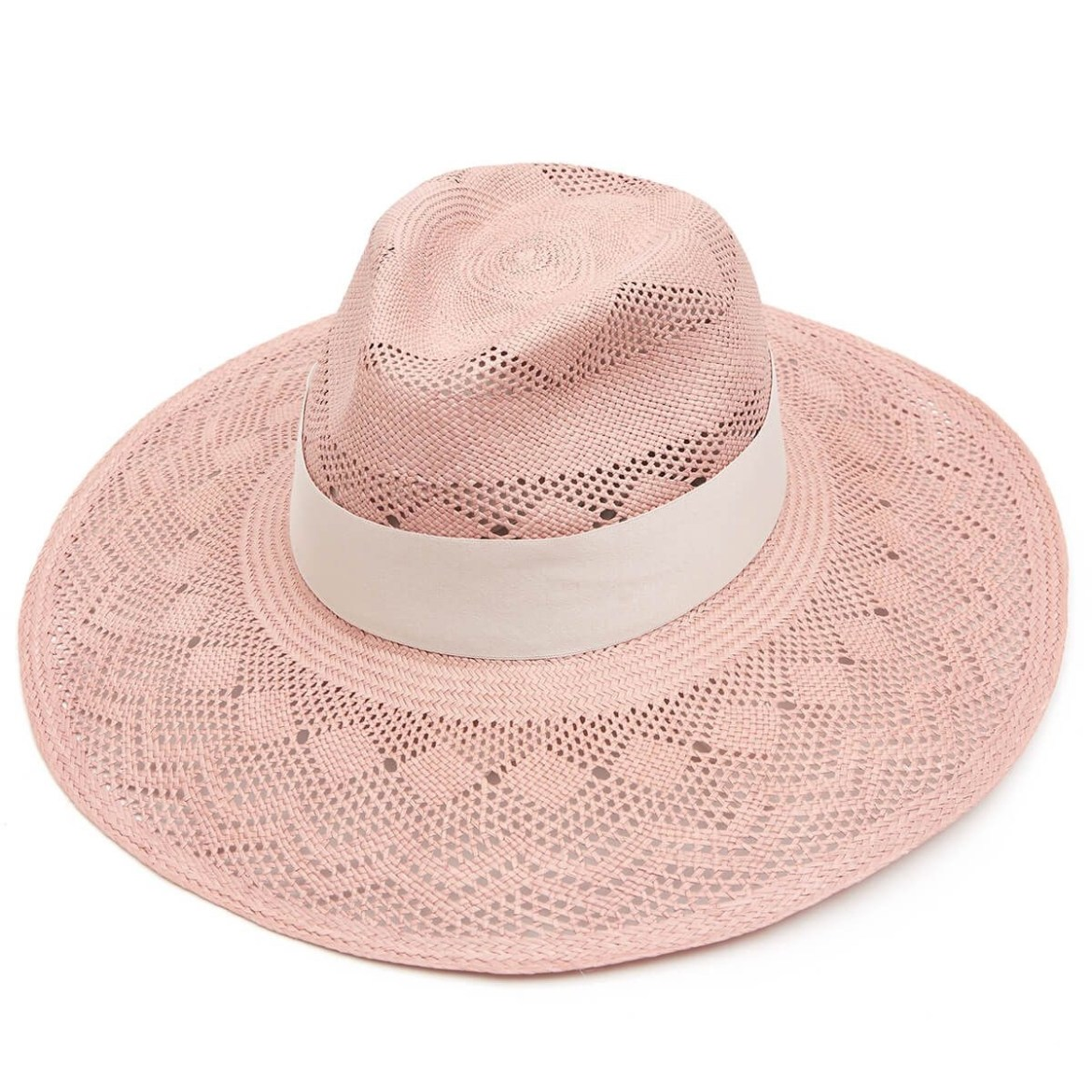 Leila Wide Brim Panama Hat – Lilac by Christys' Hats Up to 10% off