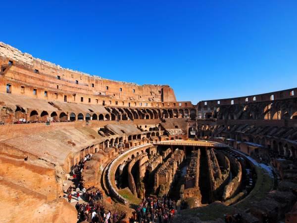 Ancient Roman Colosseum Rome