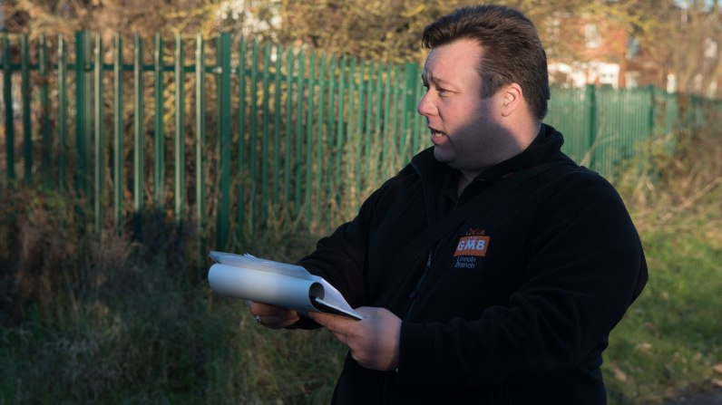 Colin Todd, Regional organiser for GMB Union. Photo: Steve Smailes for Lincolnshire Business