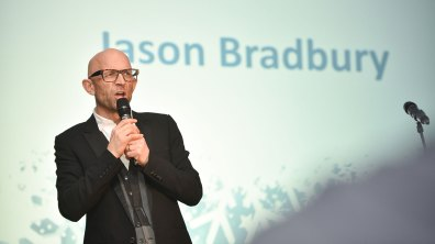 Presenter of the Gadget Show UK and US, Jason Bradbury. Photo: Steve Smailes for Lincolnshire Business