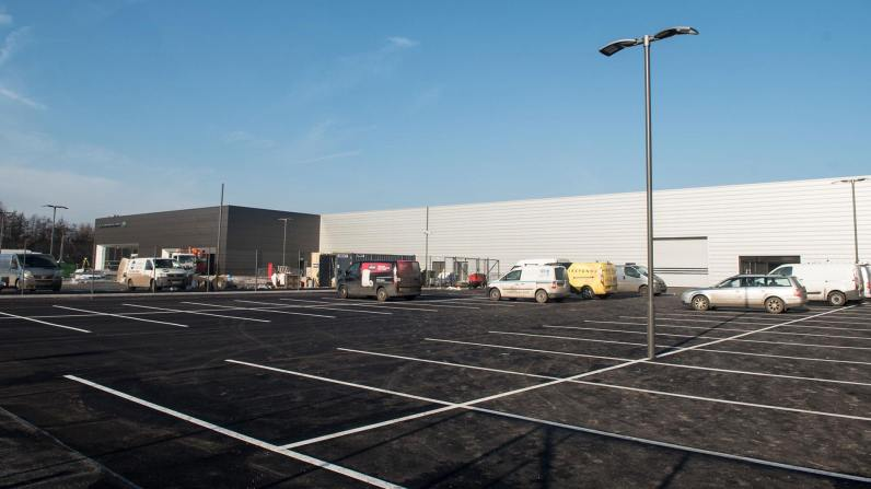 There is space for 271 cars at the new Boston site. Photo: Steve Smailes for Lincolnshire Business