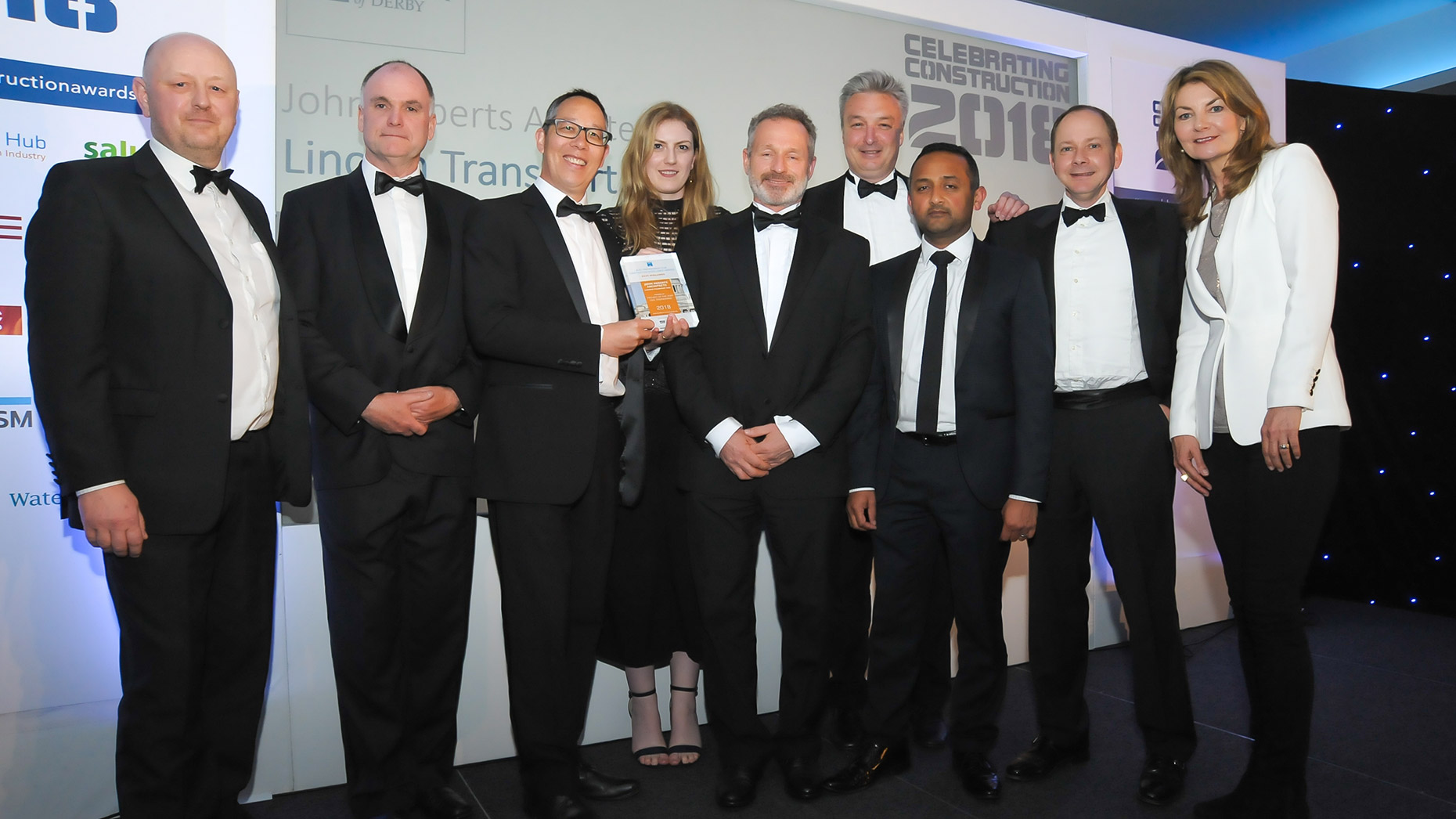 Lincoln Architects Win Civil Engineering Project Of The Year 2018