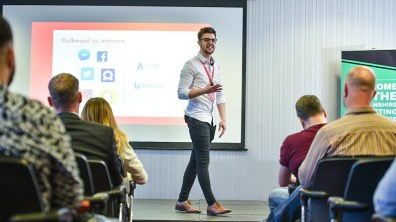 Tom Jacobs from Distract. Photo: Steve Smailes for CityX