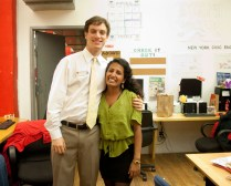 Jackson Goodman and Susan Varghese, part of the LACY Day Planning Committee
