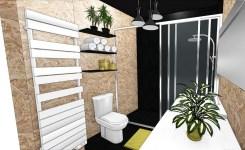 Salle de bains indus' & naturelle