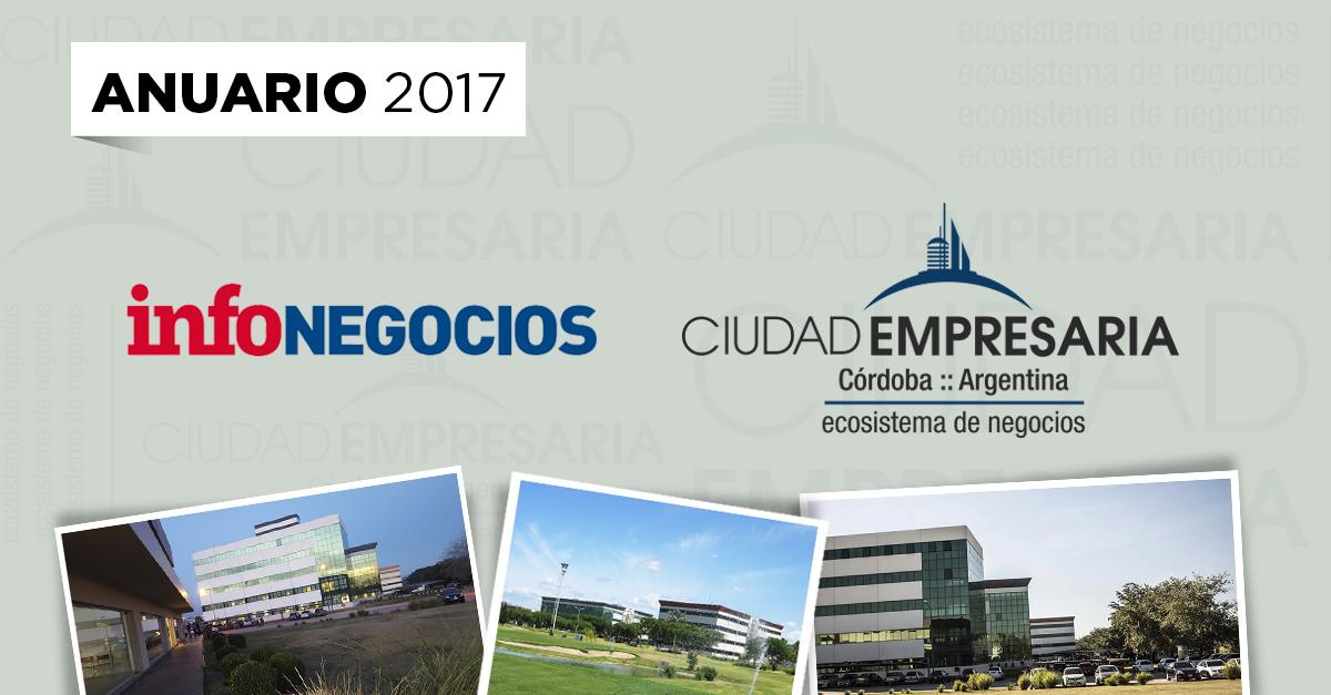 Ciudad Empresaria partícipe de anuario Infonegocios 2017