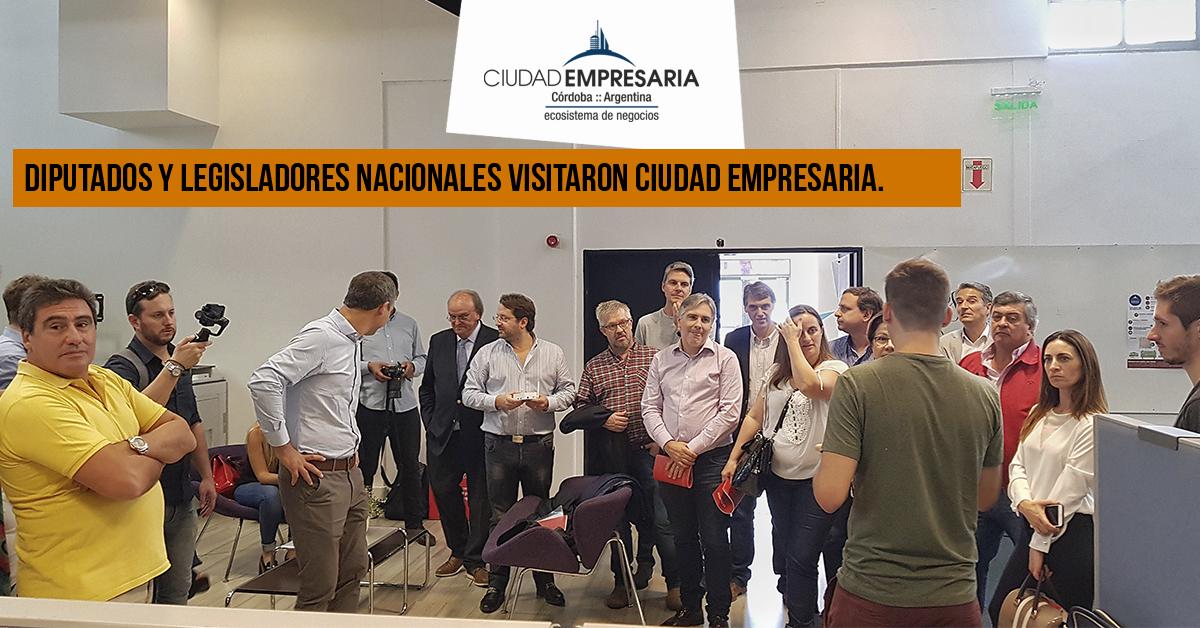 Diputados y legisladores nacionales visitaron Ciudad Empresaria.