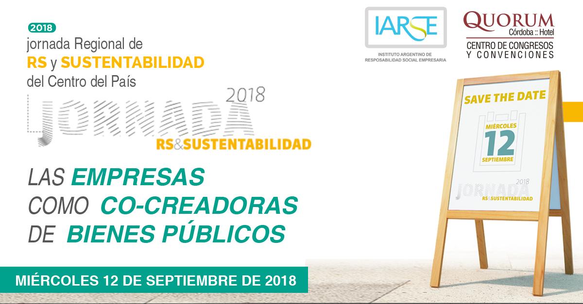 Quorum Córdoba Hotel sede y sponsor de la próxima Jornada regional de RS & Sustentabilidad de IARSE