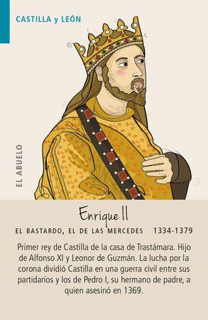 Baraja Didáctica Enrique II el Bastardo