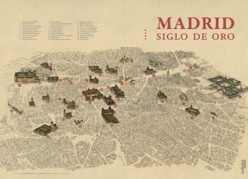 Mapa Madrid Siglo de Oro