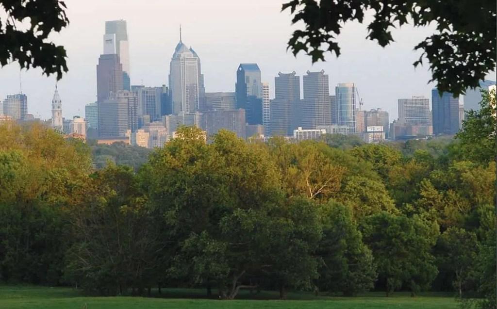 Vista a la ciudad de Filadelfia. Foto: Peter Tobia