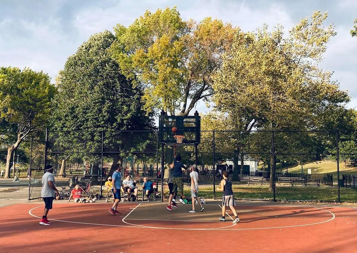 Basquetball en Parque Urbano