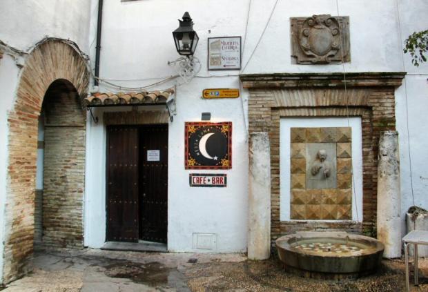 Foto del Barrio de la Judería en la Ciudad de Córdoba en Andalucía