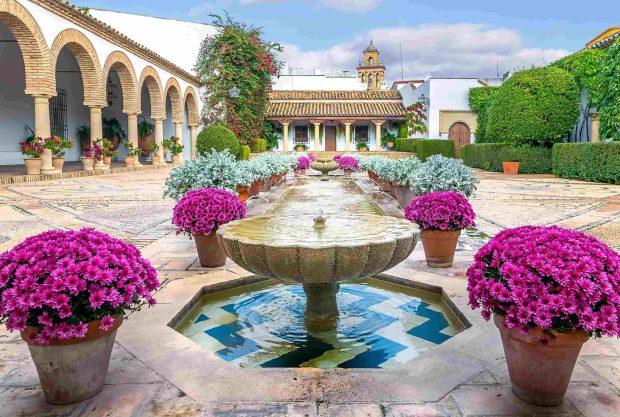Foto del Palacio Viana en la Ciudad de Córdoba en Andalucía