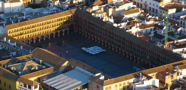 Foto de la Plaza de la Corredera de la Ciudad de Córdoba en Andalucía