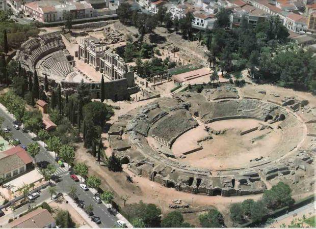 Foto del Teatro Romano de Mérida