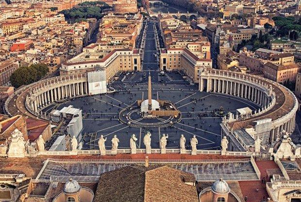 Vista Panoramica del Vaticano