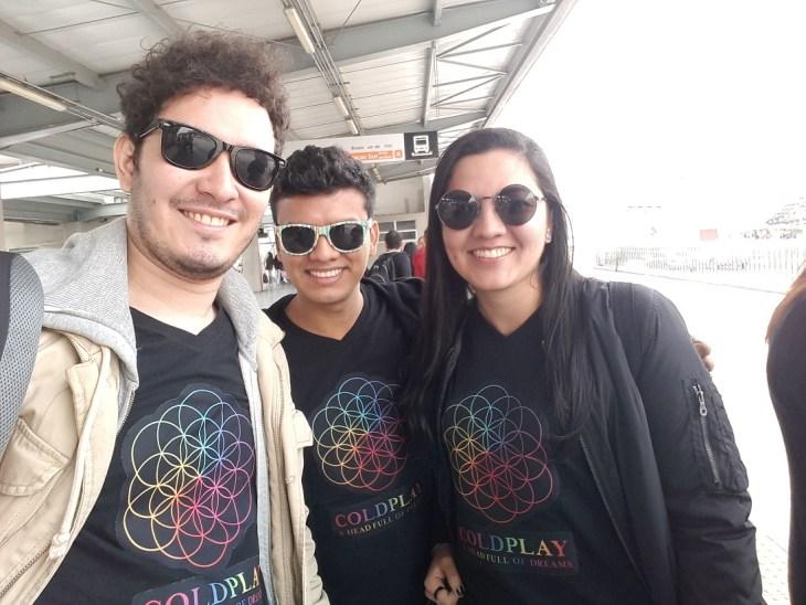 Coldplay en Bogotá