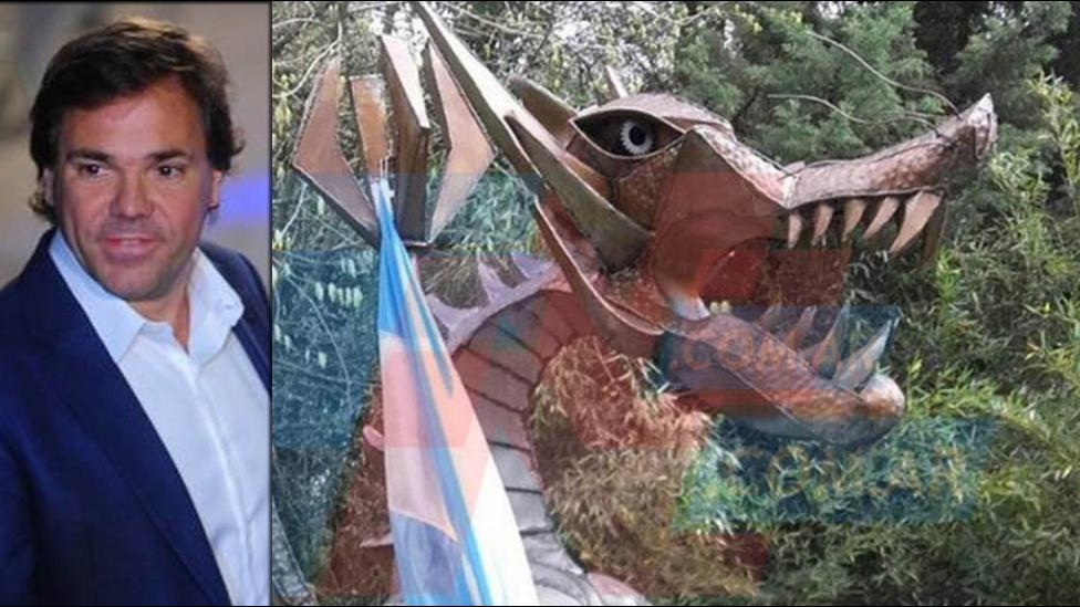 """Alberto Pérez: """"En el dragón nunca hubo plata, es todo una fábula"""""""