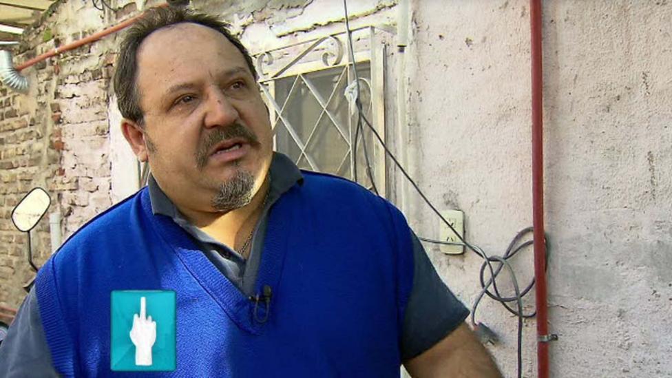 TESTAFERRO. Pedro Agustín Martínez habló con PPT.