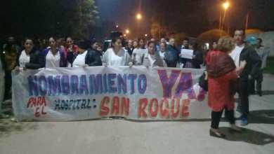 Photo of SALUD: MARCHA SOLICITANDO NOMBRAMIENTOS EN HOSPITAL SAN ROQUE DE EMBARCACIÓN  (VÍDEO)