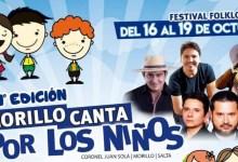 """Photo of FESTIVAL FOLCLÓRICO DEL 16 AL 19 DE OCTUBRE: 11° EDICIÓN DEL FESTIVAL SOLIDARIO """"MORILLO CANTA POR LOS NIÑOS"""""""