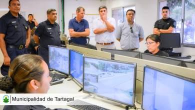 Photo of El ministro de seguridad junto al intendente recorrieron dependencias policiales