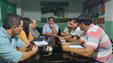 Photo of Reunión del intendente con autoridades de la provincia