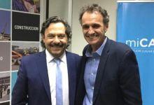 Photo of Firma de convenio Gobernador Gustavo Sáenz y Ministro de Obras Públicas Gabriel Katopodis