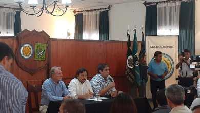 Photo of El Gobernador Gustavo Sáenz y su gabinete enTartagal