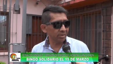 Photo of Bingo solidario para el hospital Juan Domingo Perón