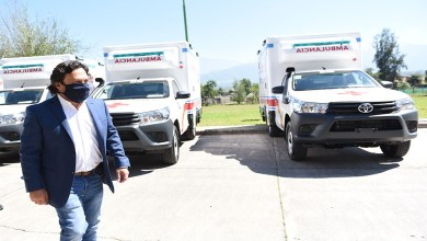 Photo of Seis ambulancias mas para hospitales de la provincia