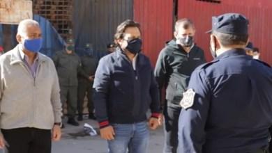 Photo of El gobernador Saenz recorrió la frontera