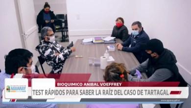 Photo of #Aguaray – Realizaron Test Rapidos de Covid-19 y dieron negativo