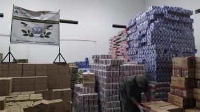 Photo of #Millonaria incautación de dinero y mercadería en #Salvador Mazza