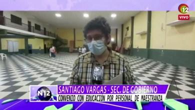 Photo of Convenio con educación por personal de maestranza