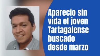 Photo of Encontraron sin vida al joven Tartagalense que estaba siendo buscado desde hace 3 meses