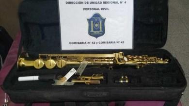 Photo of La Policía recuperó instrumentos musicales robados de una iglesia