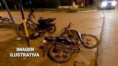 Photo of Dos personas lesionadas en un choque de motos