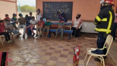 Photo of Actividades de la Policia comunitaria con niños de Tonono