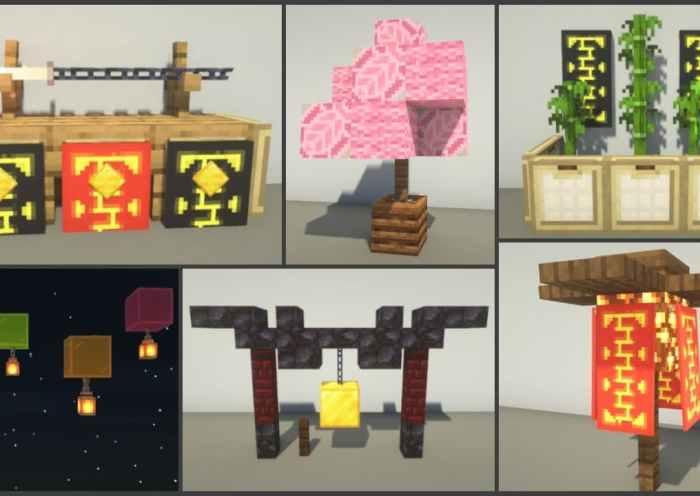 15 consejos japoneses de construcción / construcción en Minecraft • Minecraft.fr