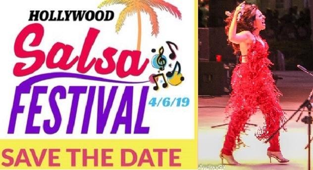 Miles Celebran la Salsa en Festival de Hollywood, Florida/ Thousands Celebrate Salsa Music in Hollywood,FL