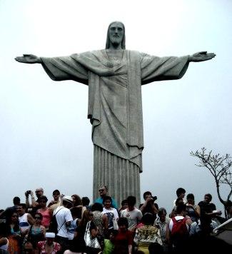 El Cristo Redentor en el morro Corcovado. 2009