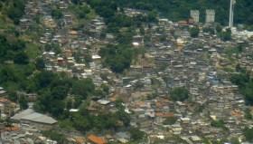 Favela de Rio de Janeiro. 2014