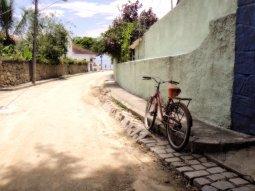 Una de las callecitas de la Ilha do Paquetá. Enero de 2012