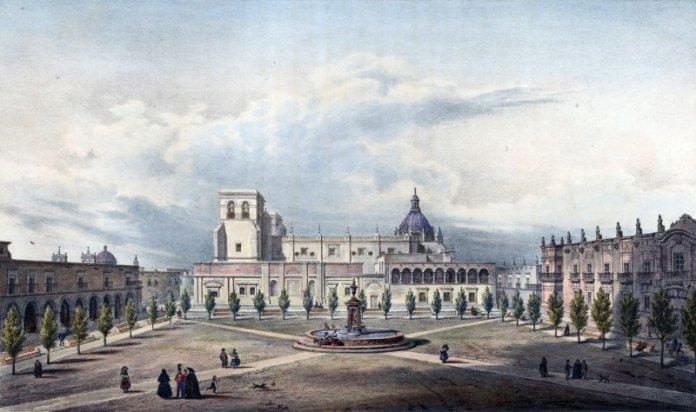 Nueva Galicia, Plaza de Armas, Guadalajara siglo XVII
