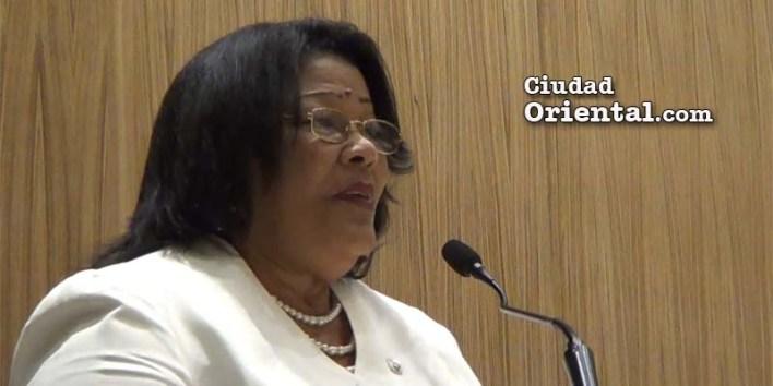 Ana Tejeda, presidenta del ASDE